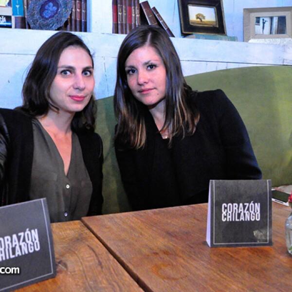 Rebeca Rodríguez y Brenda Mier