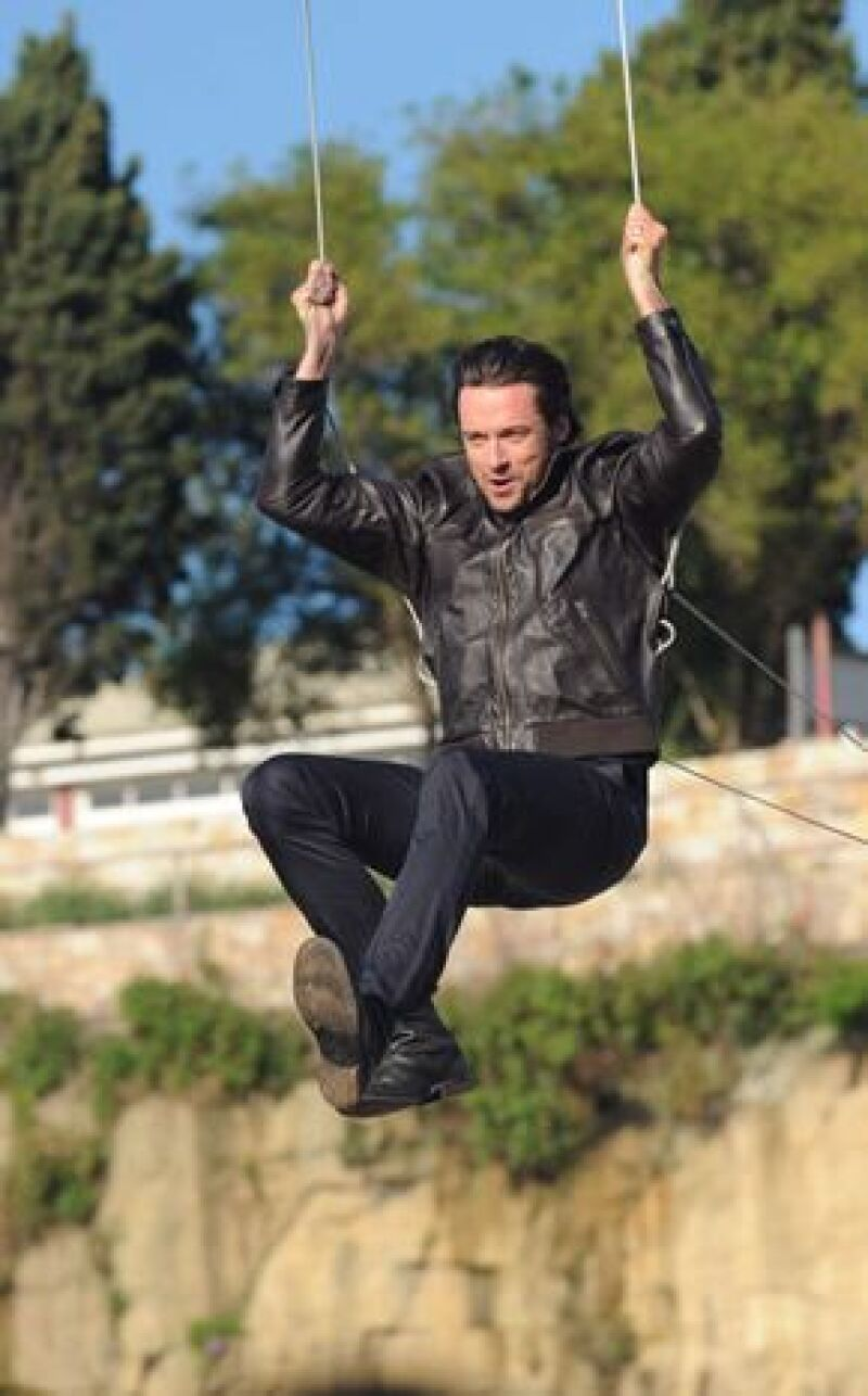 """El actor está decepcionado de que su nueva cinta """" X-Men Origins: Wolverine"""", se haya filtrado en internet."""