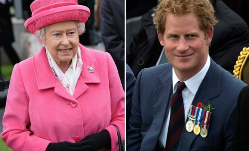 El príncipe Harry es otro de los integrantes de la familia real que todavía no tiene la oportunidad de conocer a la bebé.