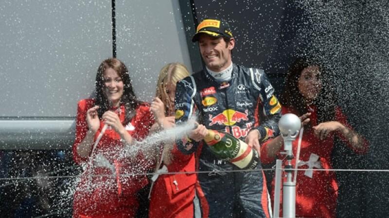 Mark Webber gana el GP de Gran Bretaña