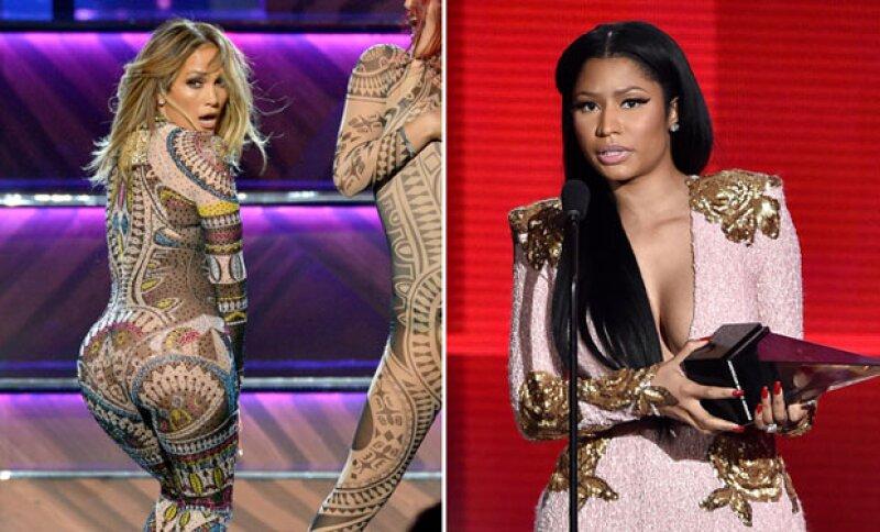 Al parecer a la cantante no le gustó que Jennifer le rindiera homenaje bailando Anaconda.