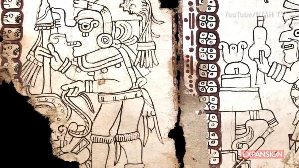 El Códice Maya de México es el manuscrito auténtico más antiguo de América