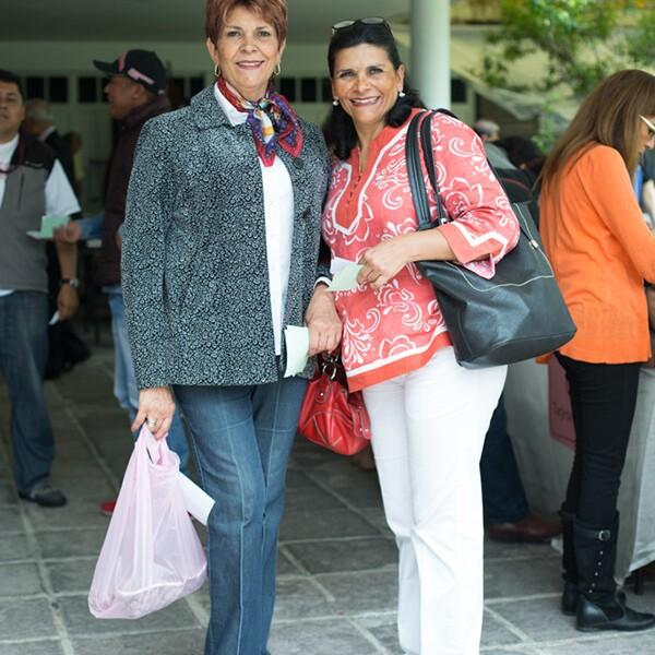 Catalina Castillo y Ana Luz Castillo