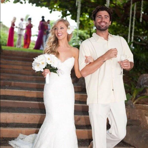 Leah Felder compartió su boda por medio de sus redes sociales, a la que acudieron miembros de toda la familia.