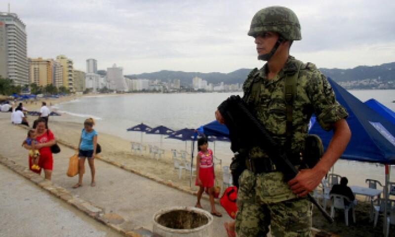 Acapulco es una de las ciudades más violentas del mundo, según el Consejo Ciudadano para la Seguridad Pública y Paz Penal (Foto: Reuters)