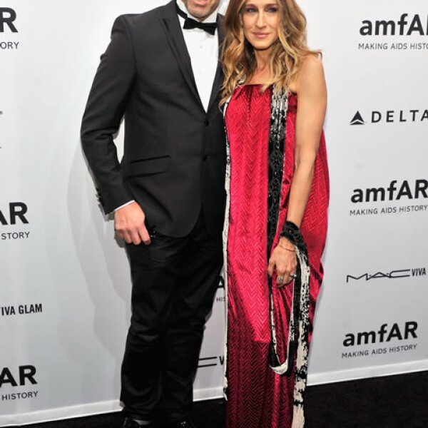 Sarah Jessica Parker con Kenneth Cole