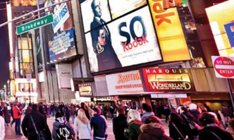 En la Quinta Avenida de Nueva York el precio promedio por metro cuadrado es de 29.8 euros. (Foto: Tomada de cushmanwakefield.com)