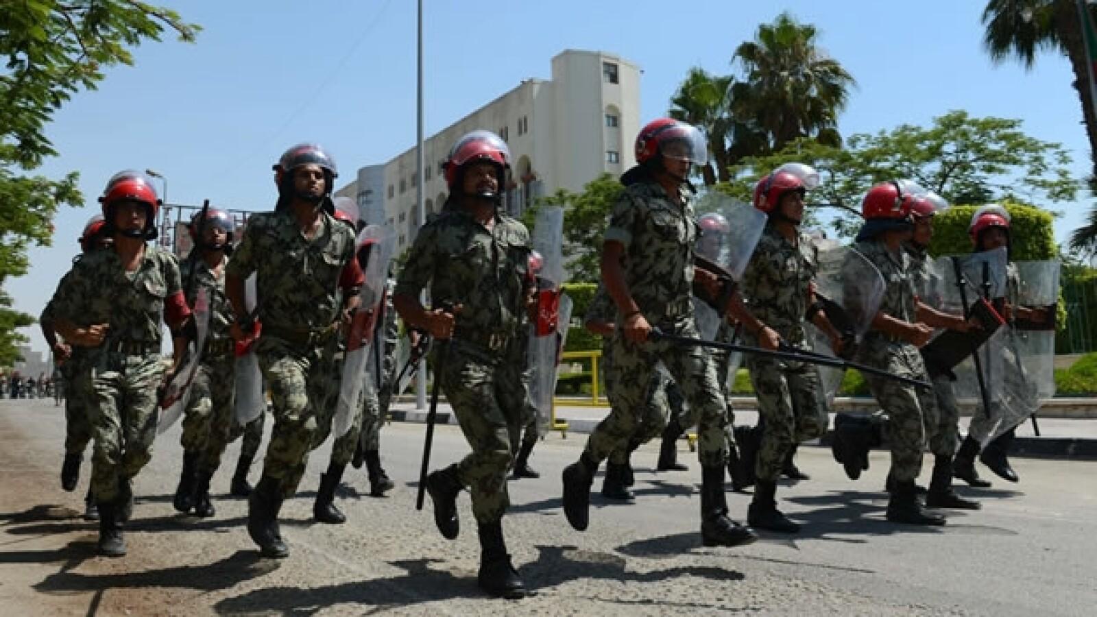 Fuerzas egipcias
