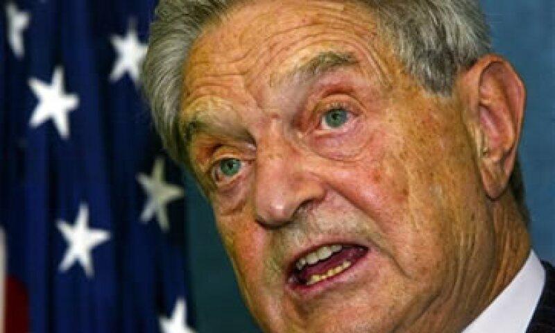 George Soros decidió el pasada 26 de julio cerrar Quantum Fund, y regresar a sus inversores 1,000 millones de dólares. (Foto: AP)
