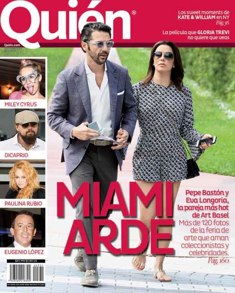 Pepe Bastón y Eva Longoría la pareja más hot en Miami