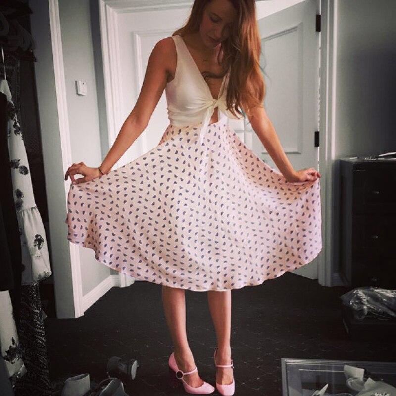 La guapa esposa de Ryan Reynolds, además de ser actriz y mamá primeriza, ha decidido emprender un nuevo proyecto al convertirse en diseñadora de modas.