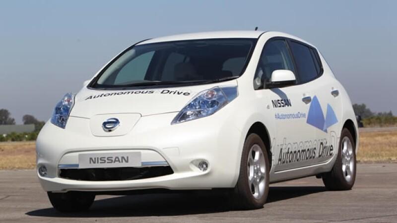 Vehiculo autonomo de Nissan