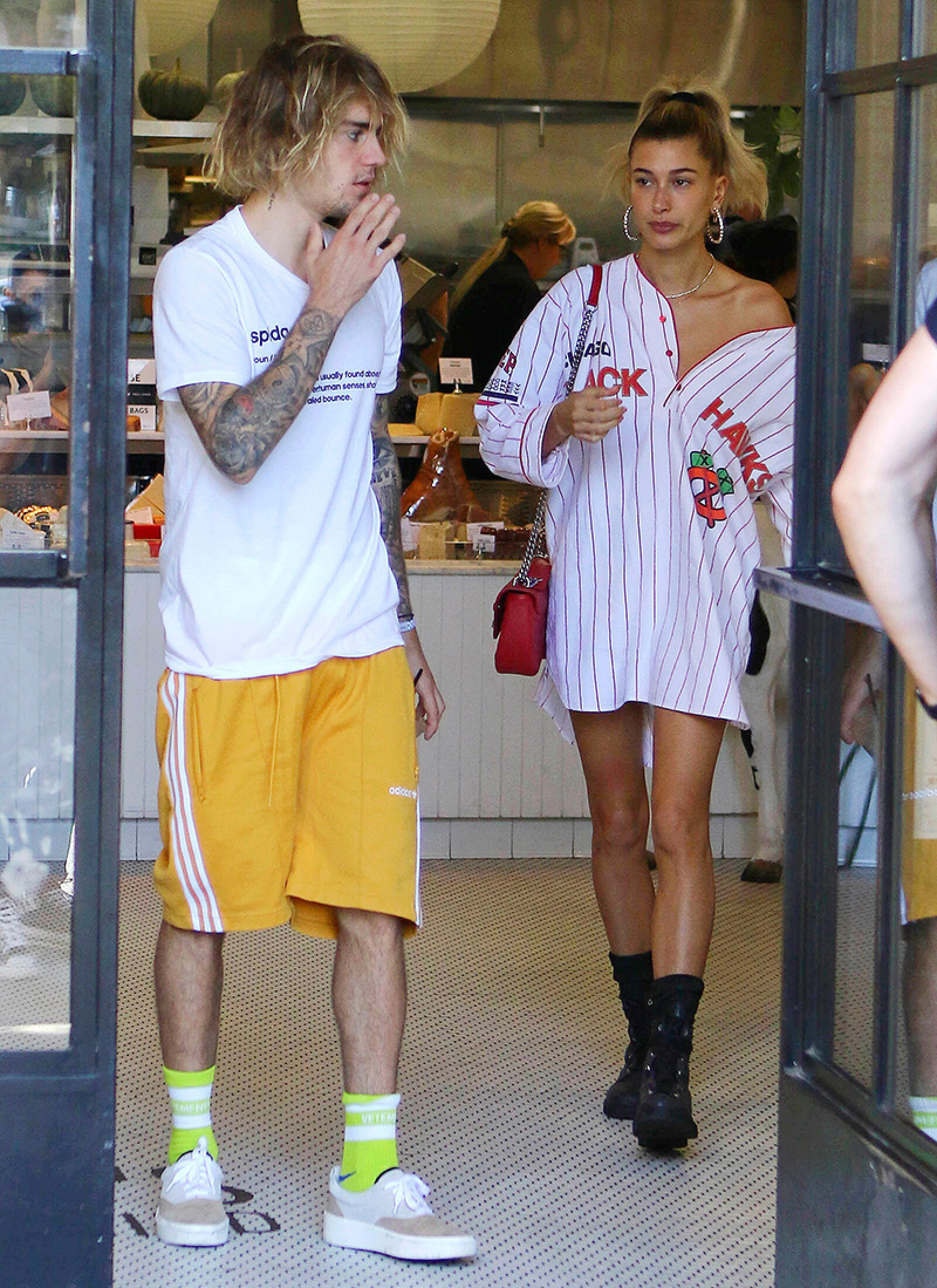 Justin Bieber and Hailey Baldwin out and about, West Hollywood, Los Angeles, USA - 12 Oct 2018