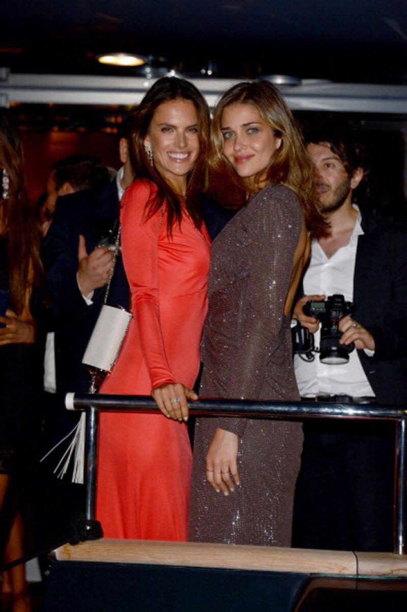 Tan grande es su amistad con la famosa modelo Alessandra Ambrosio, que será una de las bridesmaids en su boda el próximo mayo.