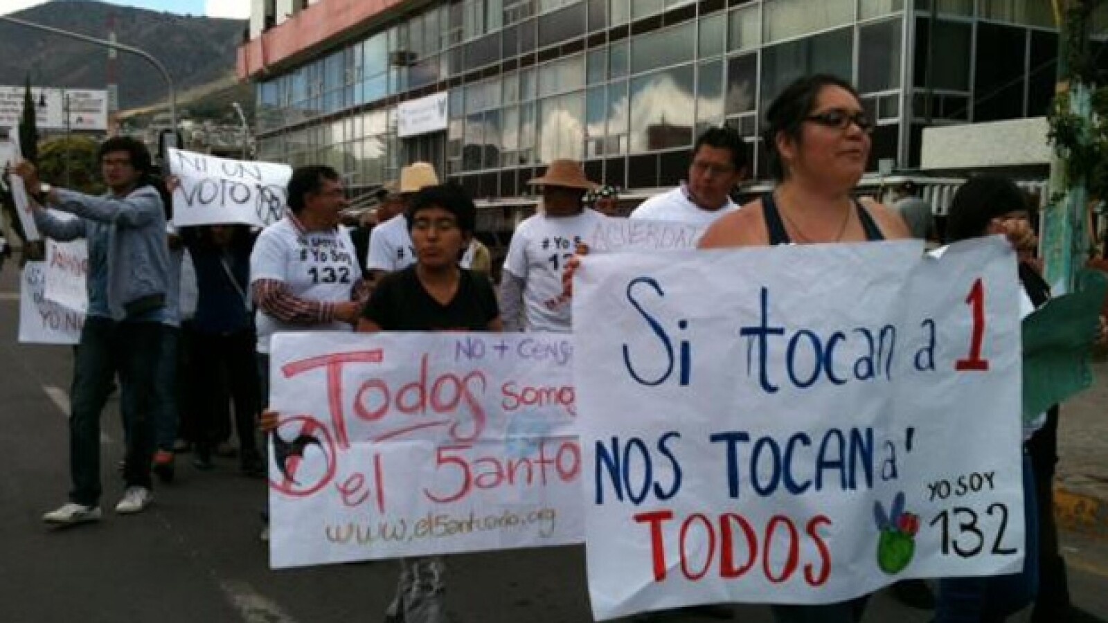 marcha antipeña Pachuca