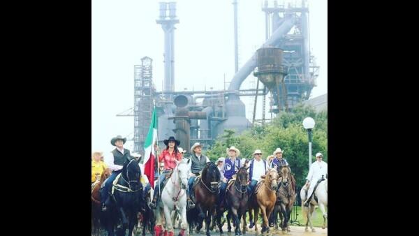 Jaime Rodriguez Calderon Bronco cabalgata
