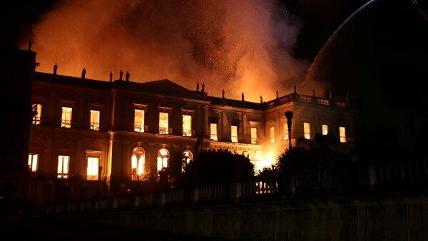 Museo Nacional de Río incendio Brasil Michel Temer