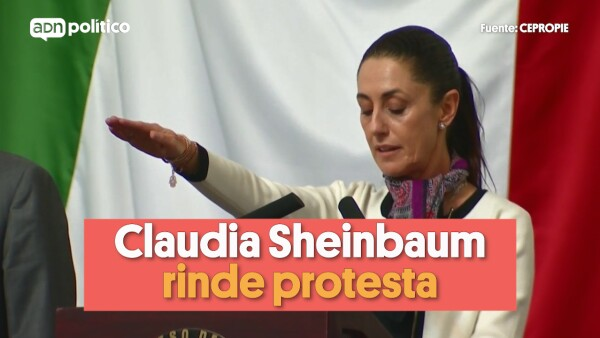 Sheinbaum rinde protesta