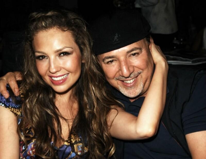 Uno de los viajes de la pareja a Miami en 2008.