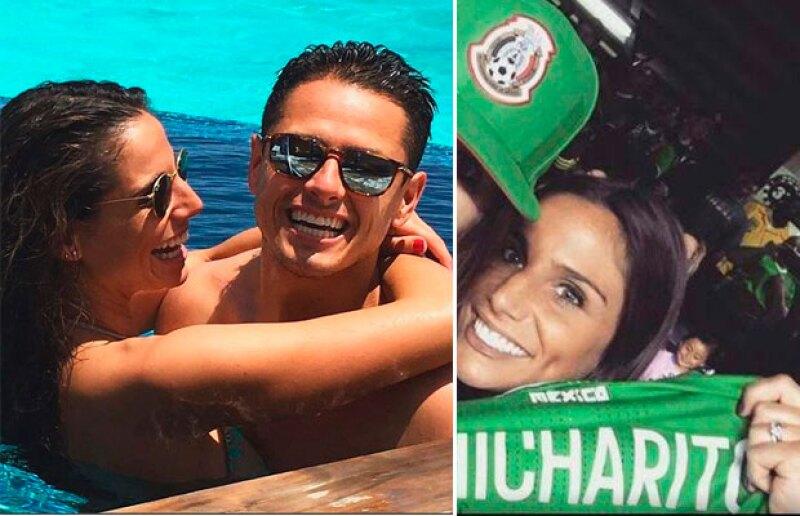 Lucía Villalón luce un espectacular diamante que ha despertado rumores de compromiso con el delantero mexicano.