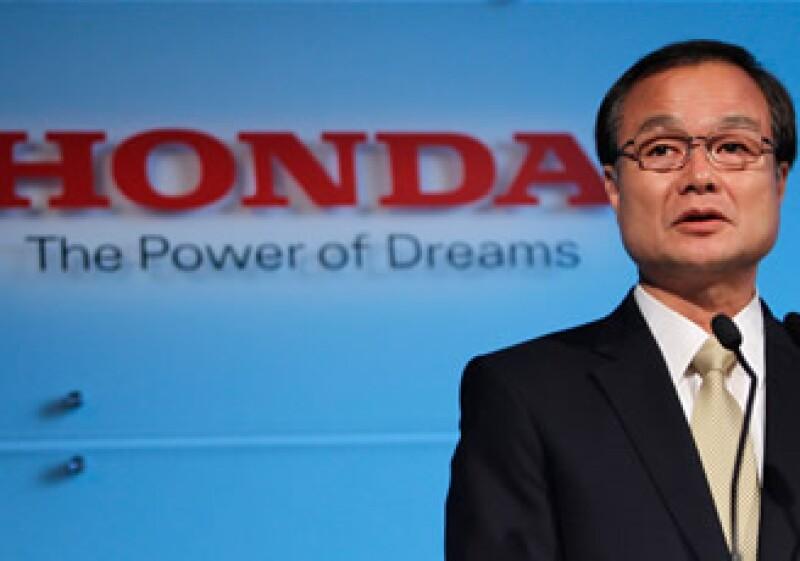 Takanobu Ito, presidente ejecutivo de Honda, adelantó los detalles de sus nuevos modelos. (Foto: Reuters)