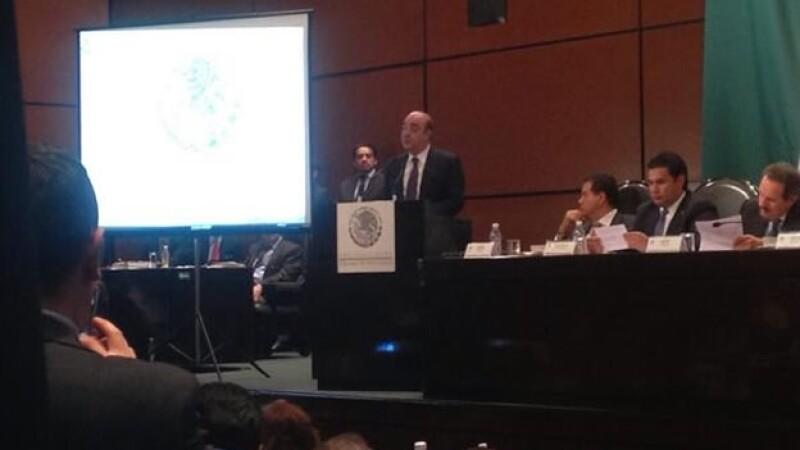 El titular de la Procuraduría General de la República, Jesús Murillo Karam