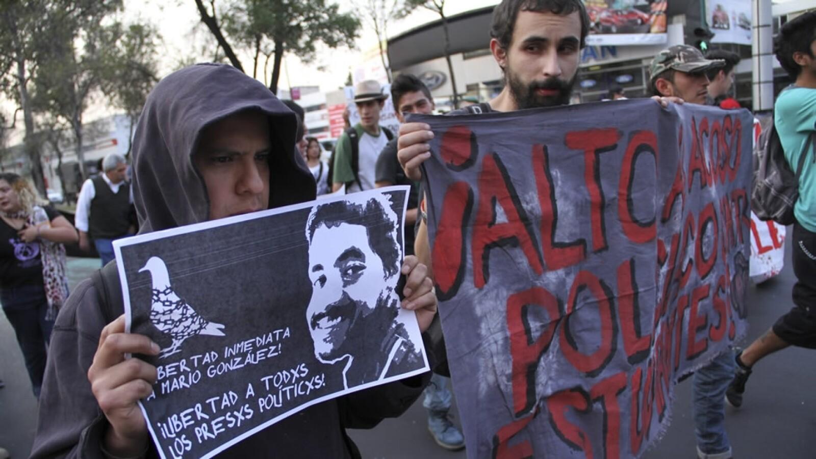 marcha ciudad de mexico presos politicos4