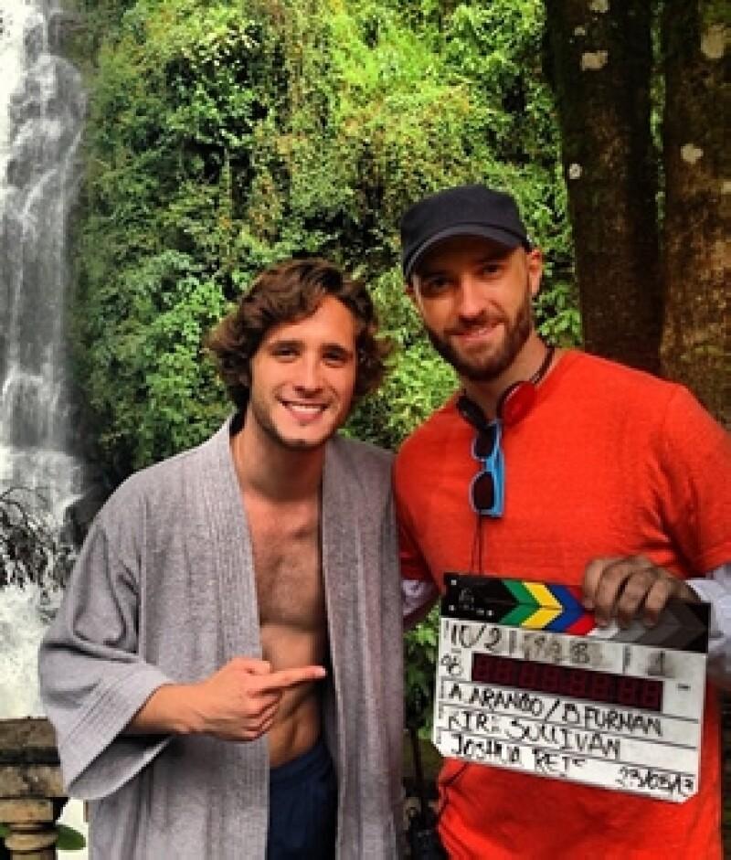 """El joven mexicano filma """"The Dead Men"""", su segundo largometraje donde actuará junto a Jackson Rathbone de la cinta """"Crepúsculo""""."""