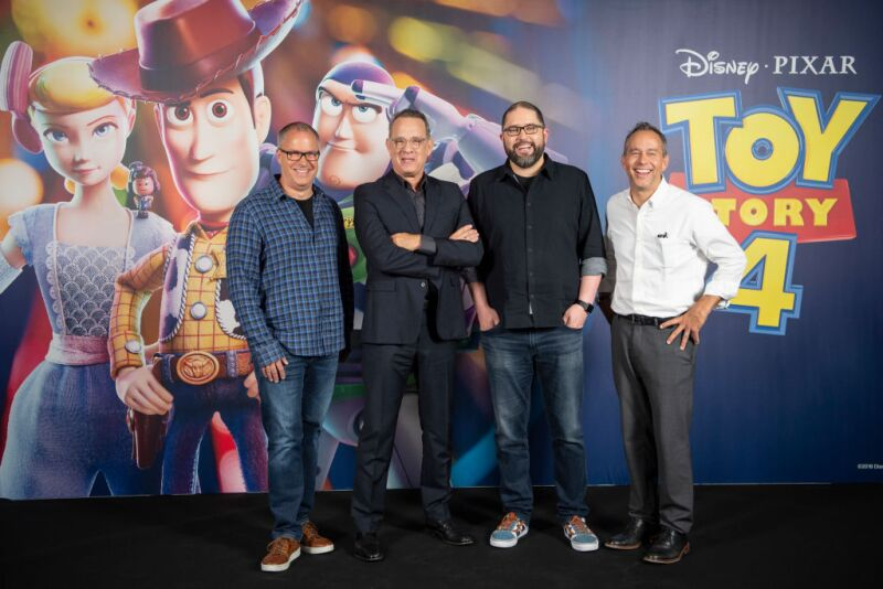'Toy Story 4' Barcelona Photocall