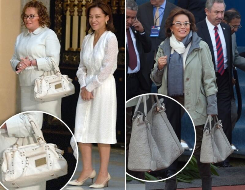 Las bolsas de lujo, su pieza favorita.
