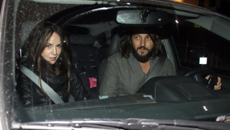 Diego y Camila se conocieron en 2007 luego del rodaje de la plícula El Búfalo de la Noche.