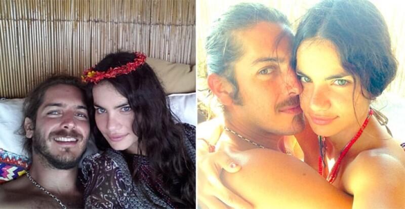 La modelo de 28 años ha retomado su vida amorosa y ahora disfruta del noviazgo con el tapatío Carlos Ibarra.