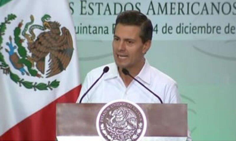 Peña Nieto participó en la XIX Conferencia Interamericana de Ministros de Trabajo de la OEA (Foto: Presidencia/Cortesía)