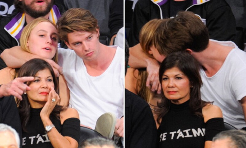 Taylor y Patrick eran novios en 2013.