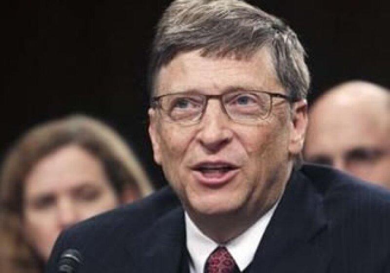 Bill Gates hace realidad proyectos de gran magnitud. (Foto: Reuters)