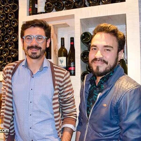 Sergio Mendoza y Ricardo Quiróz