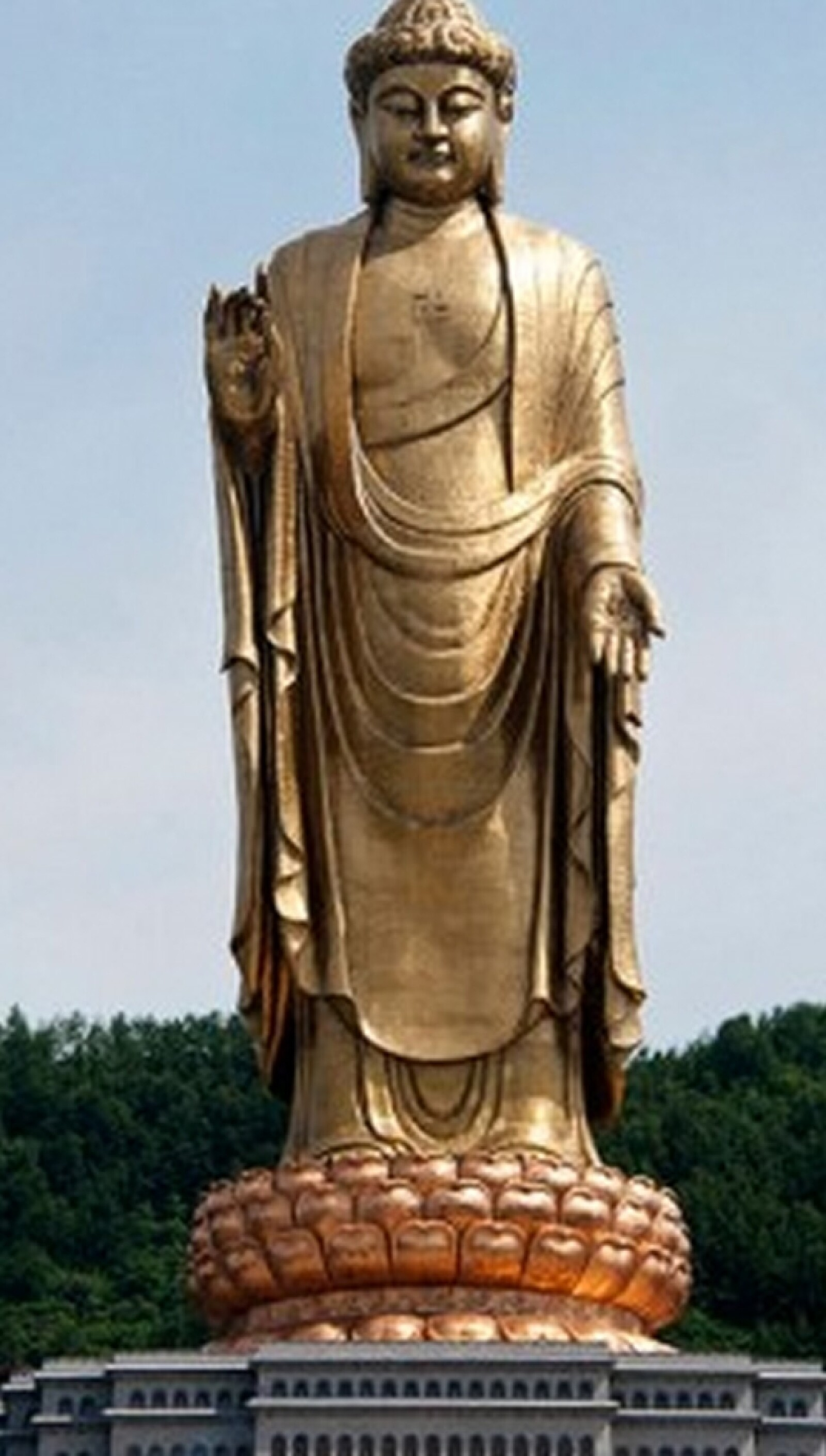 el buda mas alto del mundo, en lushan