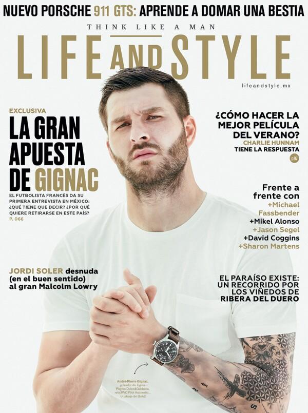 André-Pierre Gignac en nuestra portada de mayo