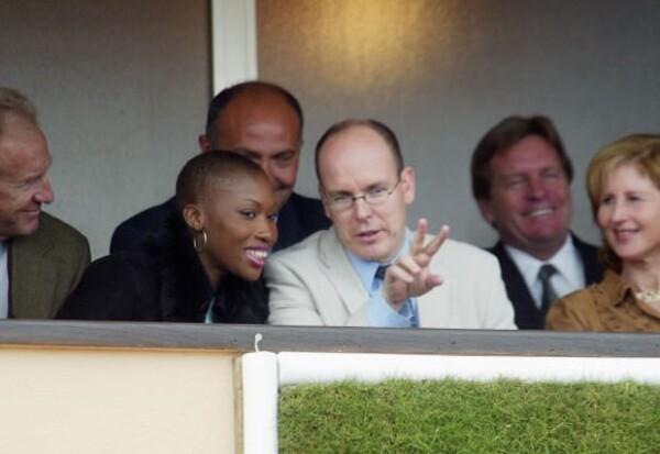 Con Nicole Coste tuvo un hijo, Alexandre. Aquí en una foto tomada en 2002.