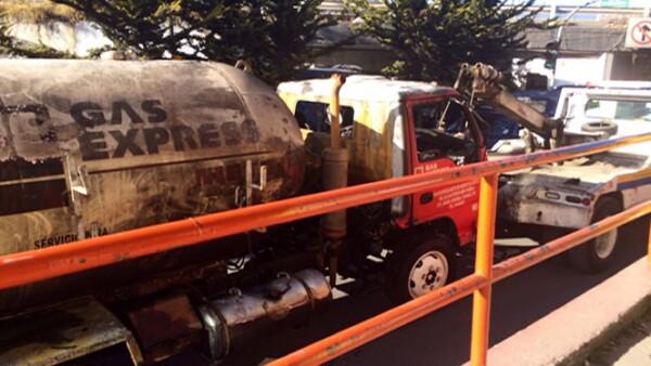 La empresa Gas  Express Nieto tiene se ha visto involucrada en otros accidentes en años anteriores, aunque dice actuar correctamente
