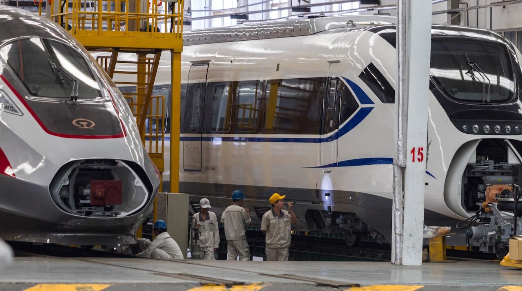 La china CRRC planea que su planta de trenes para Latinoamérica esté en  México
