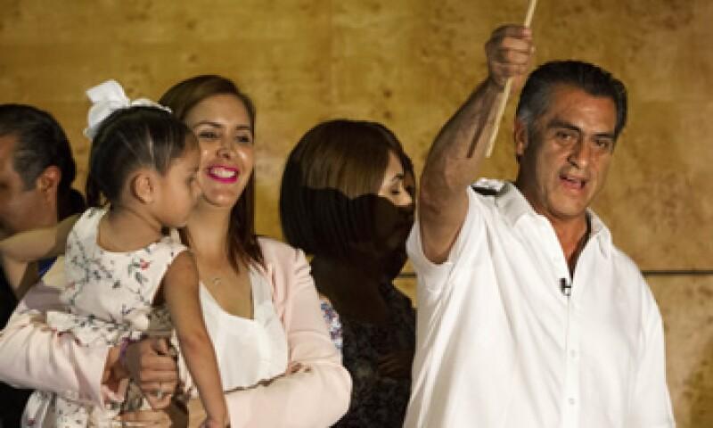 Jaime Rodríguez tenía el 48.86% de los votos a las 14:47 horas de este lunes. (Foto: Cuartoscuro )
