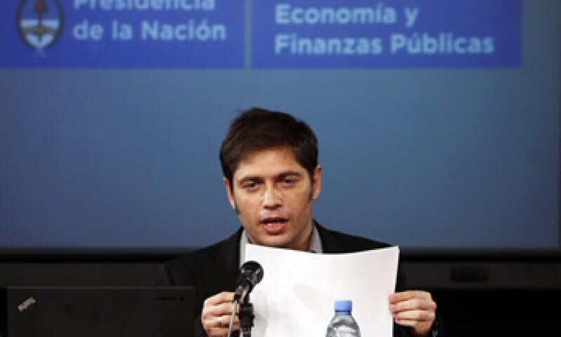 Kicillof afirmó que el juez Griesa busca favorecer a los holdouts. (Foto: Reuters)