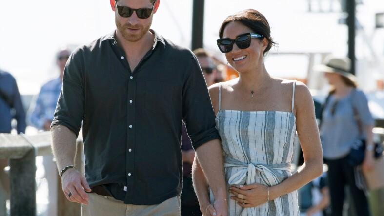 Harry y Meghan en Fraser Island 2018