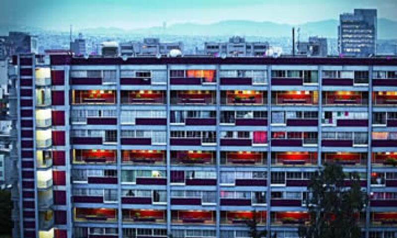 El multifamiliar diseñado por Mario Pani hace 52 años, tenía un casino, guardería y panadería, entre otros servicios de lujo. (Foto: Rocío Rojo)