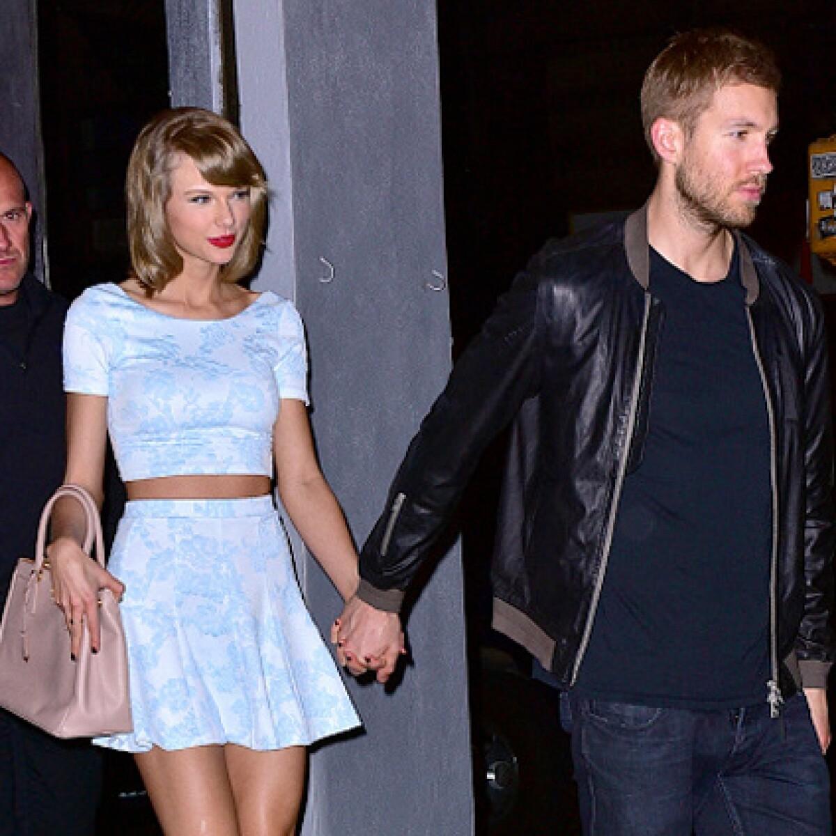 Así fue cuando Taylor Swift y Calvin Harris se vieron por primera vez
