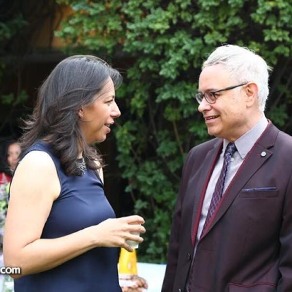 Laura Manzo y Ramón Corona