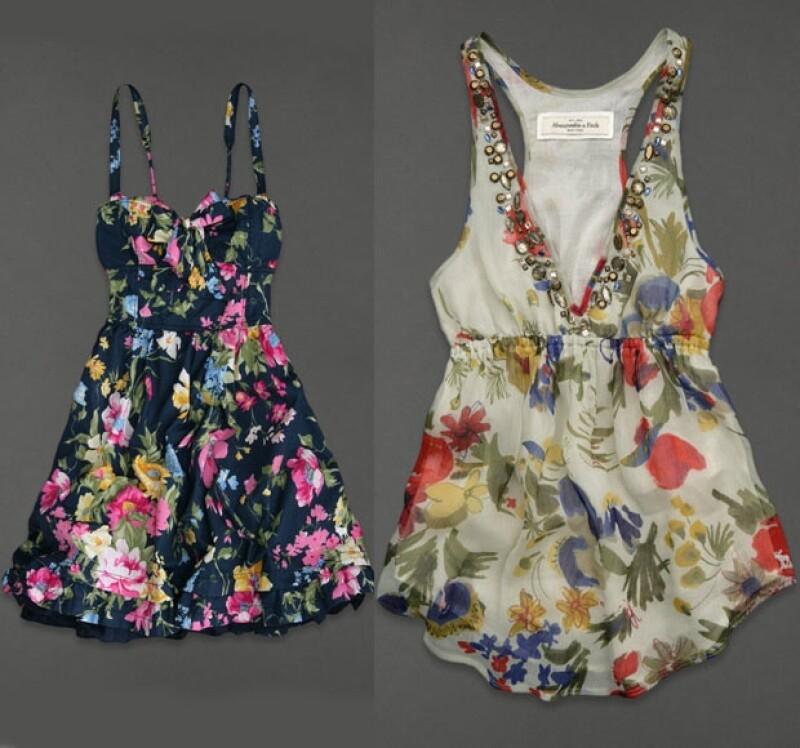 Abercrombie & Fitch tiene una gran variedad de diseños con flores.