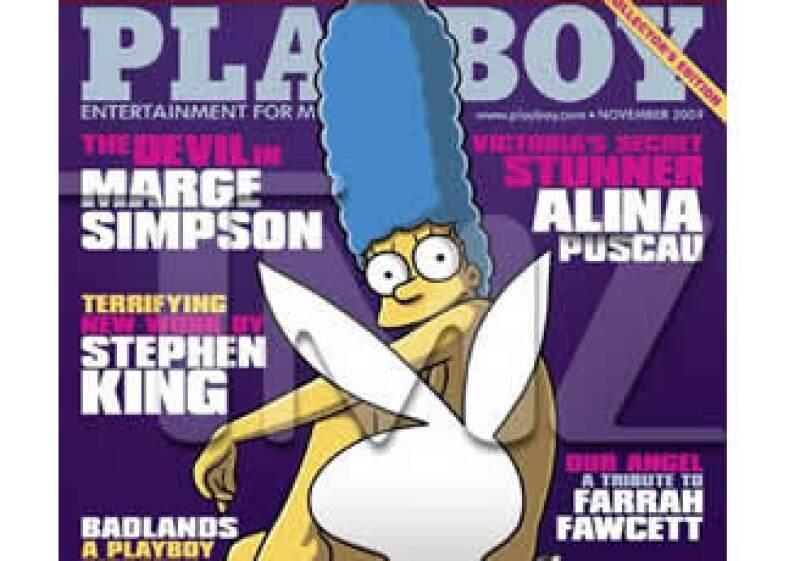 Marge aparecerá sin ropa en un reportaje de tres páginas sobre su vida. (Foto: TMZ )