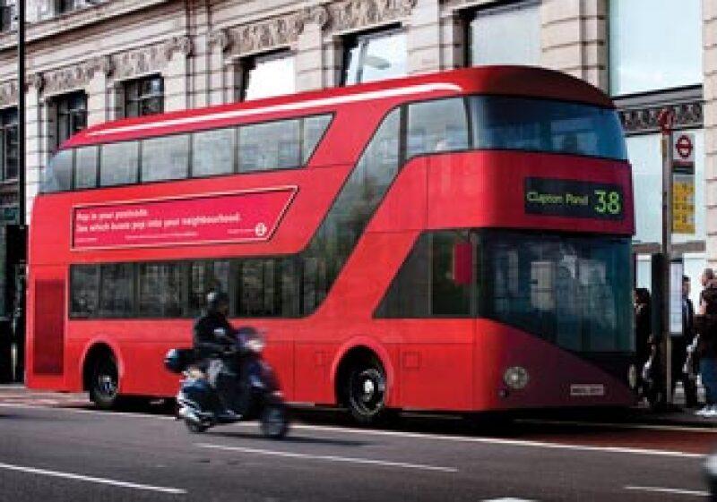 La Oficina de Transportes de Londres, Inglaterra presentó el diseño con el que serán construidos los nuevos autobuses del transporte público. (Foto: Cortesía Transport for London.)